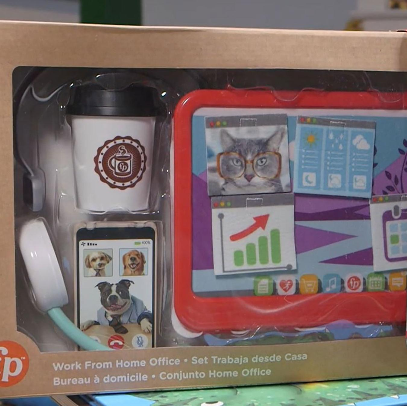 Work from home toy set